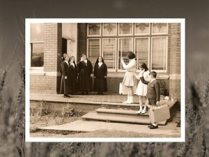 Children and Sisters, Antonian Institute, c.1960.  Source: Daughters of the Divine Zeal.