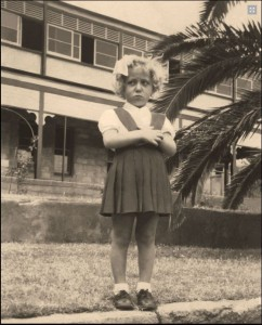 Young Sophia at St Vincent de Paul Orphanage, Adelaide.  Courtesy: Once My Mother website.