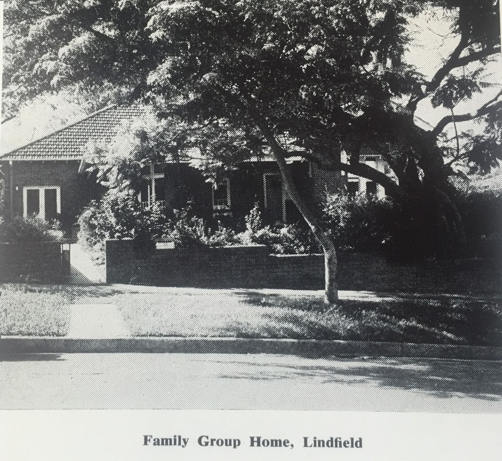 Dr Barnardos in Australia Family Group Home in Lindfield, c. 1970