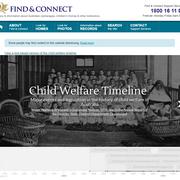 Interactive Child Welfare Timeline
