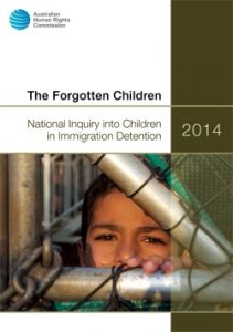 Cover of The Forgotten Children report