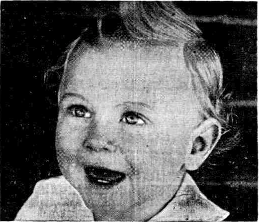 Boy offered for adoption in WA's Sunday Times, 1939