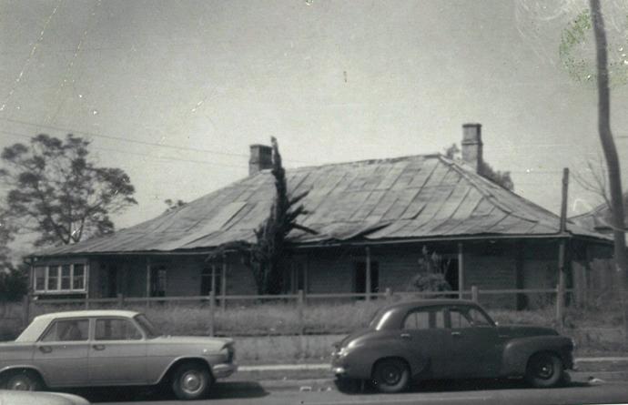 Drummond Cottage Liverpool 1960.