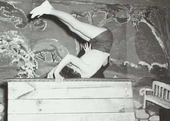 Photos from the Donella Jaggs Collection Gymnast